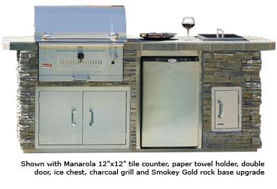 Stainless Steel Outdoor Kitchen Doors On Outdoor Kitchen Angus Bbq Stainless Steel 4 Burner Grill 75000